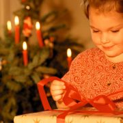 Child-with-gift