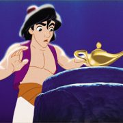 Aladdin discover the lamp