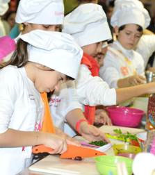 KIDS COOKING SUMMER CAMP 2014
