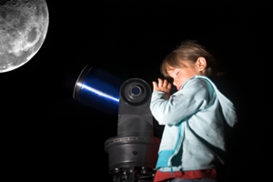 Child-looking-at-the-moon-through-telescope-300x200