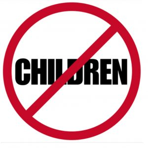 no-children-allowed