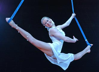 Moscow State Circus - Natalia Egorova