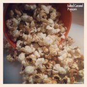 salted caramel pop corn