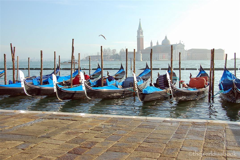 Venice-Gondolas