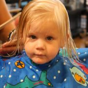 First Haircut-July 31, 2009 014