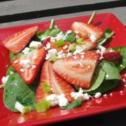 strawberry feta