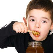 honey with kid