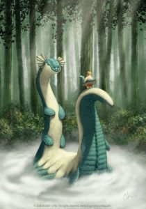 loch-ness-monster-funny-photoshop-painting-pixar-style-art