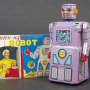 71.  Japanese lavender robot