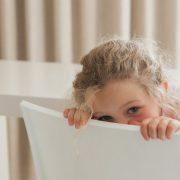 ντροπαλό παιδί