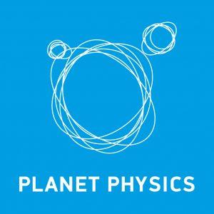 Planet Physics logo blue