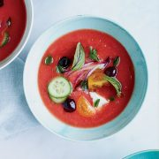 David Chang: Greek Salad Soup + Cover Try A150515 FW Handbook + Best of Test of Kitchen Sept 2014
