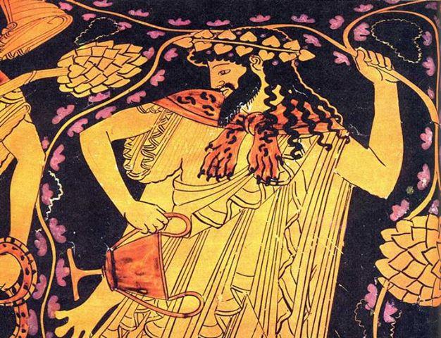 Διόνυσος-Ο-Θεός-των-αμπελιών-και-του-κρασιού