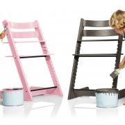 Tripp Trapp 110512-1271823 Soft Pink and Hazy Grey
