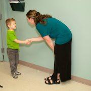 bree greeting child