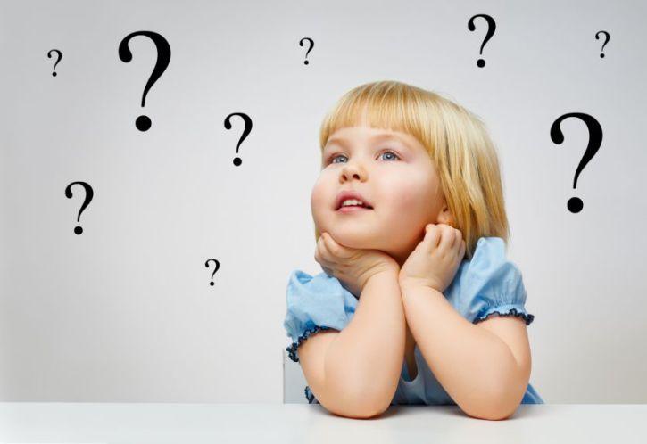 παιδικές ερωτήσεις