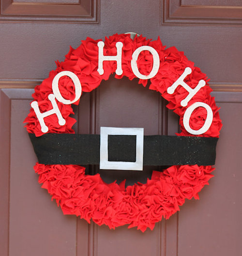 red-felt-wreath-Santa-belt