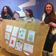 ζωγραφιές των παιδιων για το έργο