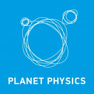 Planet Physics logo blue
