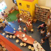 Εργαστήριο στην Παιδική Βιβλιοθήκη Καραμπουρνάκι Καλαμαριάς