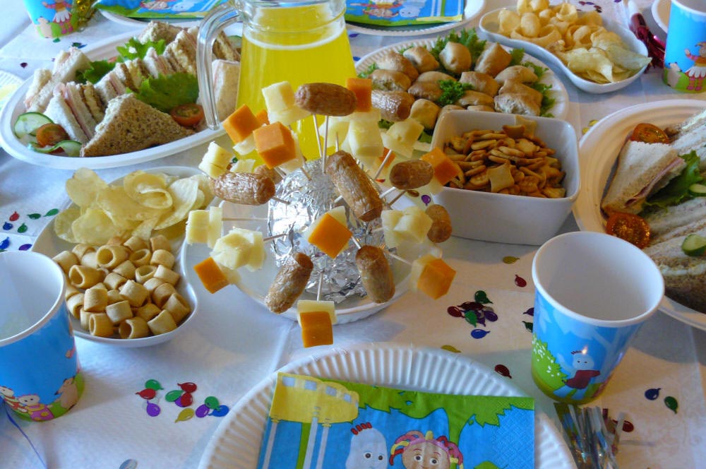 best-kids-party-food