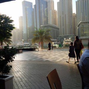 Palm Jumeirah, συνάντηση με φίλους, ένα καταπληκτικό απόγευμα για μικρούς και μεγάλους.