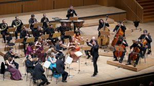 Οι τελευταίες συμφωνίες του Μότσαρτ. Η Καμεράτα-Ορχήστρα των Φίλων της Μουσικής (σε όργανα εποχής), μουσική διεύθυνση: Γιώργος Πέτρου. Αίθουσα Χρήστος Λαμπράκης 23/11/14