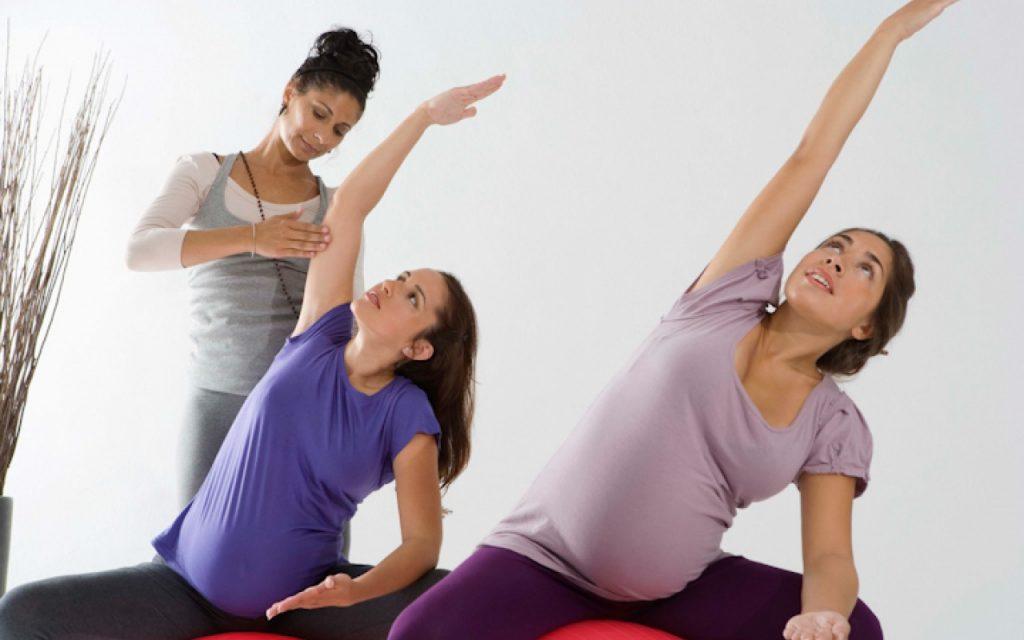 γυμναστική στην εγκυμοσύνη