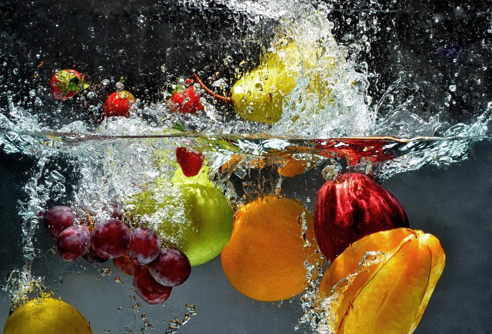 πλύσιμο φρούτων και λαχανικών
