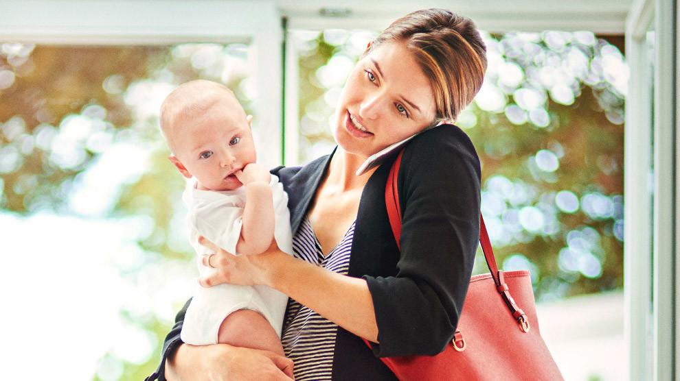 επιστροφή στη δουλειά μετά τη γέννα