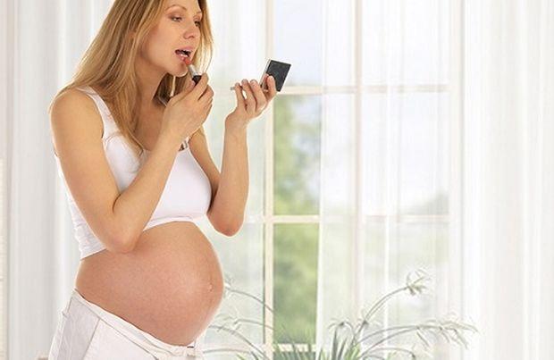 μακιγιάζ στην εγκυμοσύνη