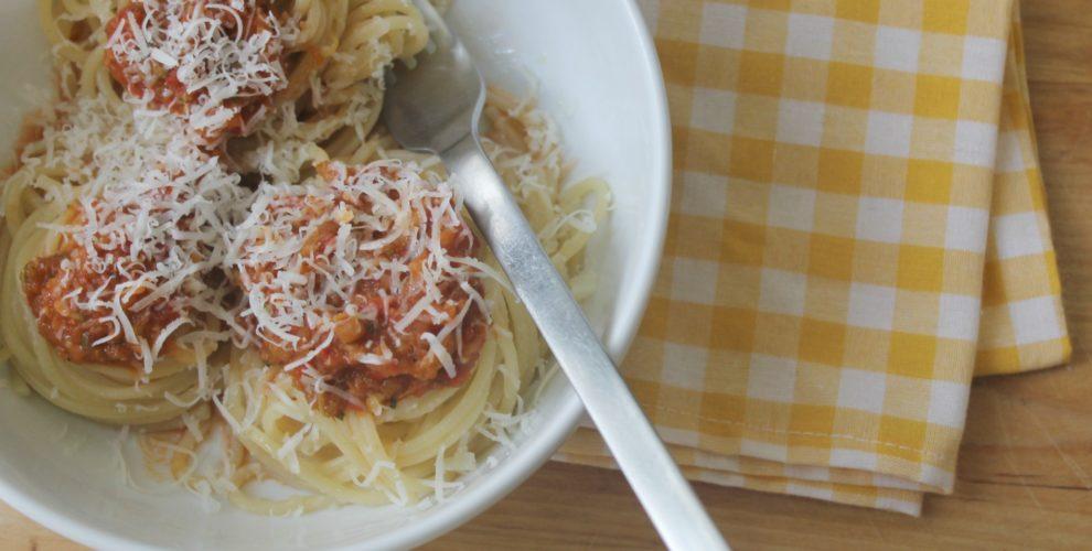 σάλτσα ζυμαρικών με λαχανικά