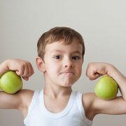 boy-muscles-green-apples