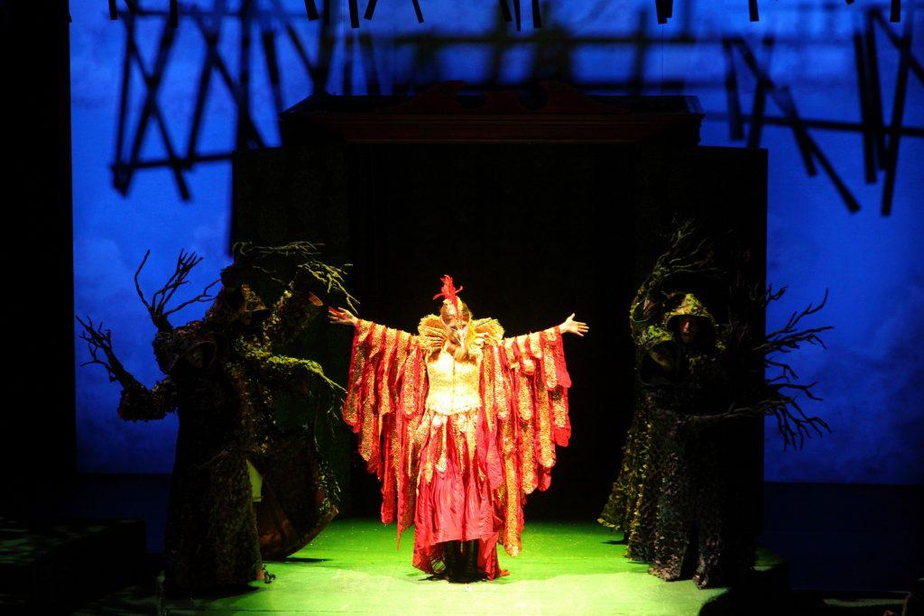 Πρίγκιπας Ιβάν και Πουλί φωτιάς - Μαύρο Δάσος 3 - Β.Ζαχαροπούλου- φωτό Γερ. Δομένικος