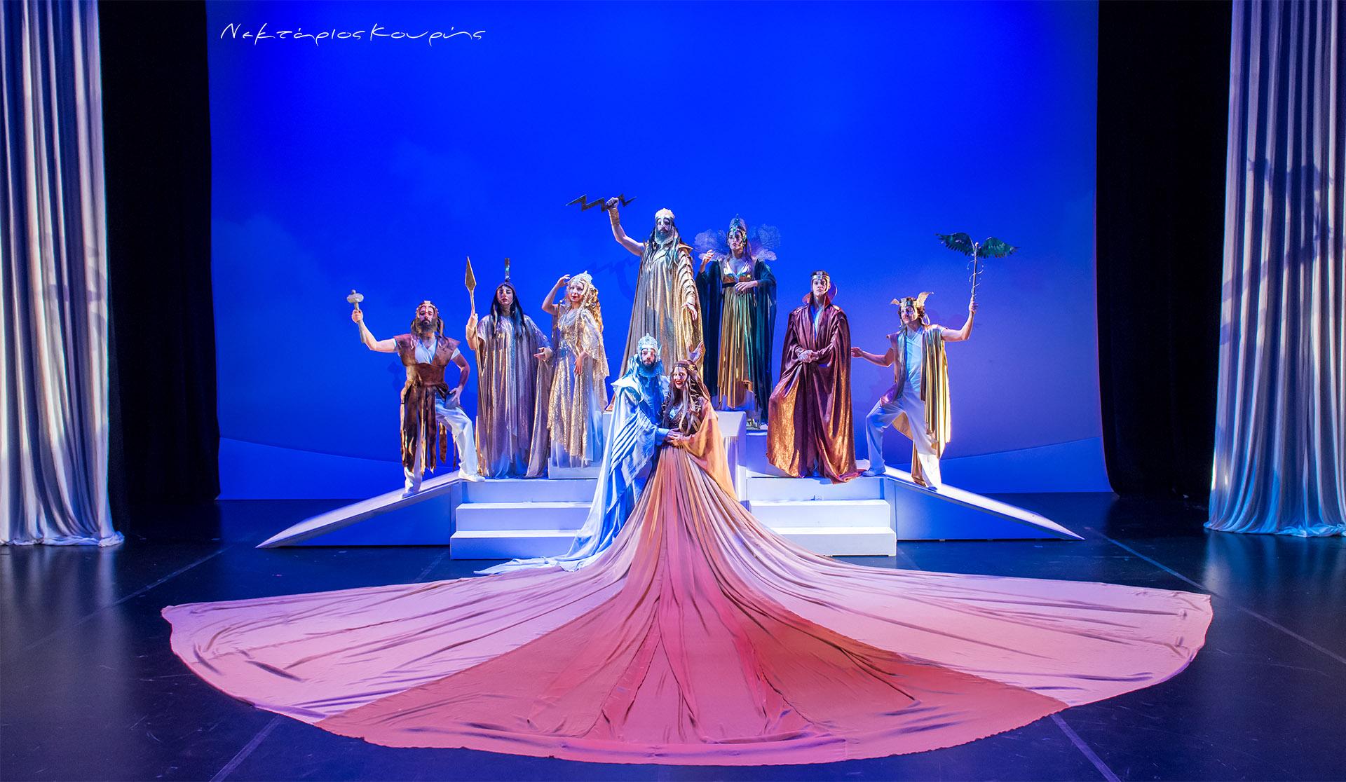 Η γέννηση του κόσμου και... ιστορίες των θεών του Ολύμπου