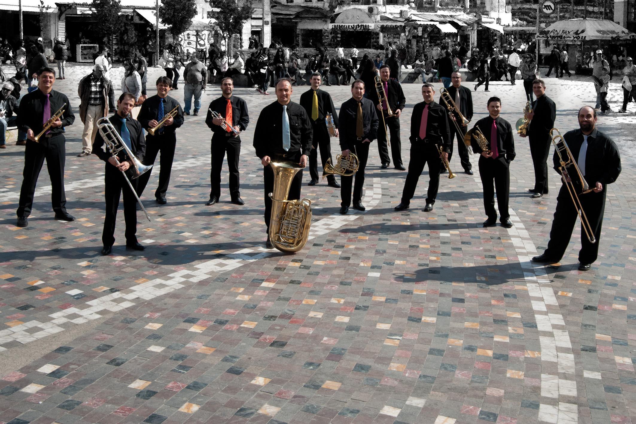 Μουσικό σύνολο Metallon της Κρατικής Ορχήστρας Αθηνών