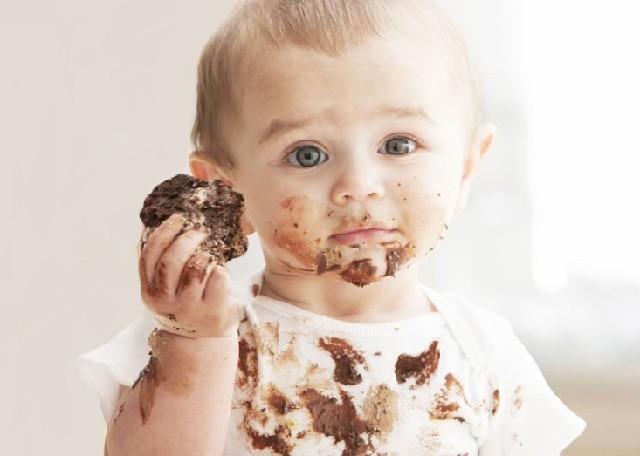 λεκές από σοκολάτα