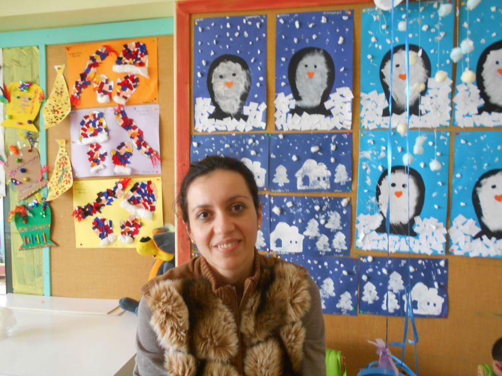 Η Ειρήνη Ορφανού, ειδική παιδαγωγός