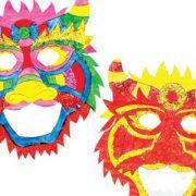 Οι μάσκες της Χαράς και της Τύχης