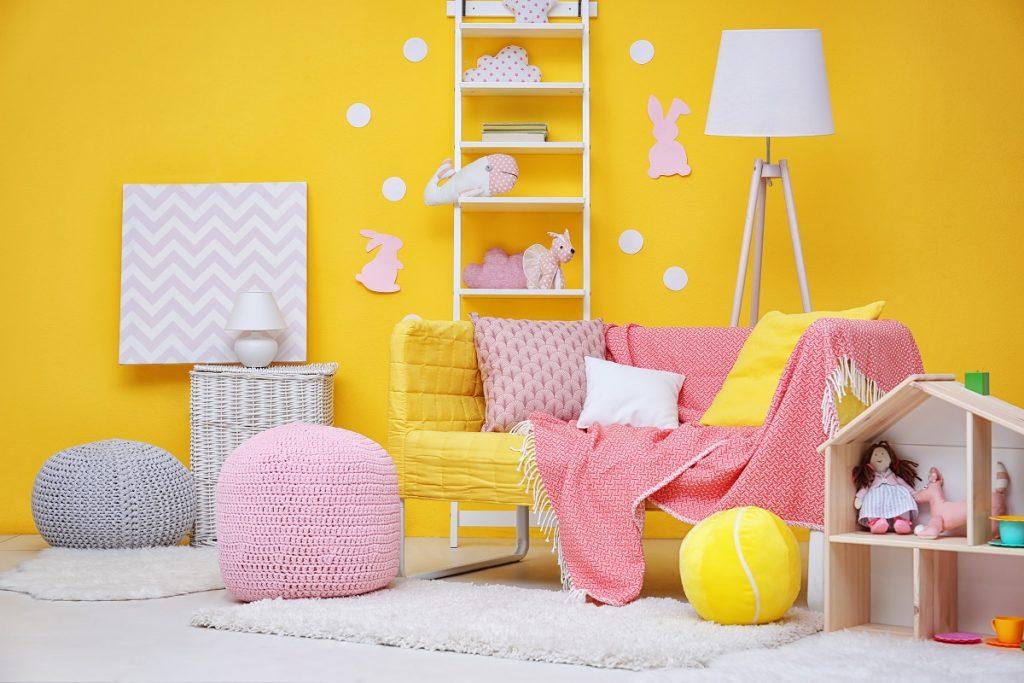 παιδικό-δωμάτιο-κίτρινο-χρώμα-1024x683