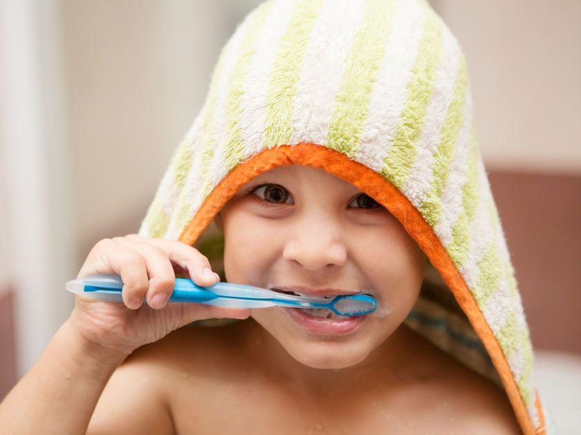 υγιές παιδικό στόμα
