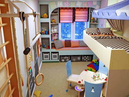 ανακαίνιση-παιδικού-δωματίου