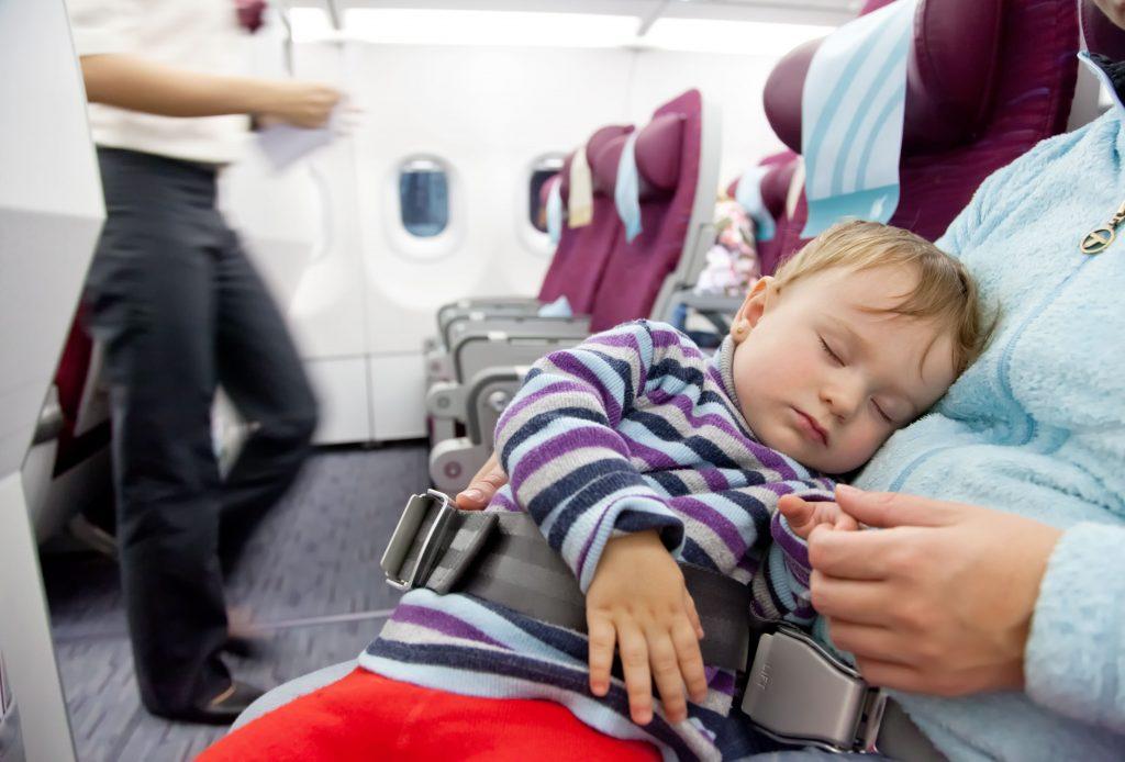 αεροπλάνο με μωρό