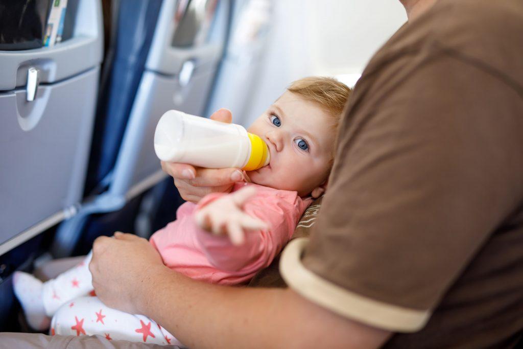 Αεροπορικό ταξίδι με μωρό