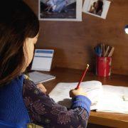 μελέτη στο σπίτι
