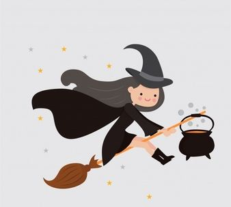 background-of-pretty-witch-with-cauldron-and-broom_23-2147698478