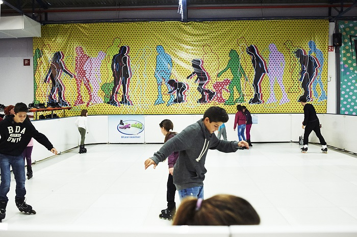 low ice Roller