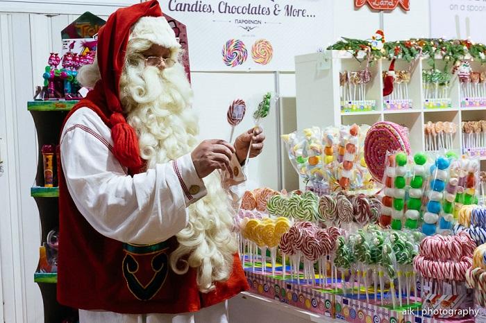 low santa candies