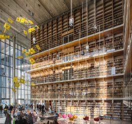 Πύργος Βιβλίων της Εθνικής Βιβλιοθήκης της Ελλάδος ©ΕΒΕ_Νίκος Καρανικόλας