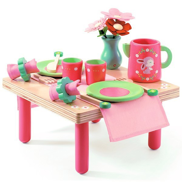 Djeco Lili Roses lunch set